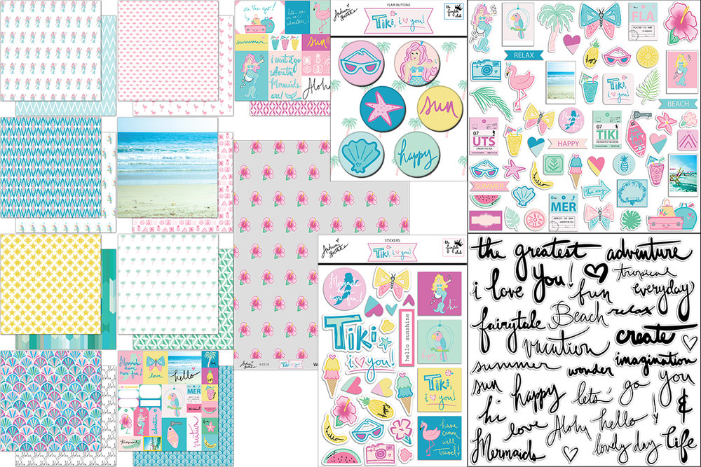 Tiki, I Love You - Scrapbook Kit Block.jpg