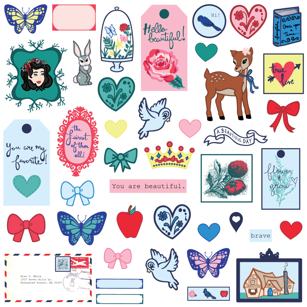 Hello Beautiful Digital Collection - Die Cut Shapes Ephemera.png