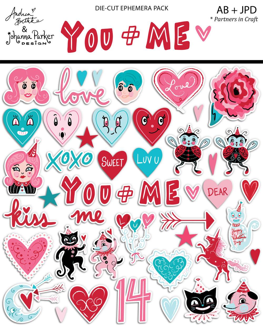 You + Me - Ephemera with packaging.jpg
