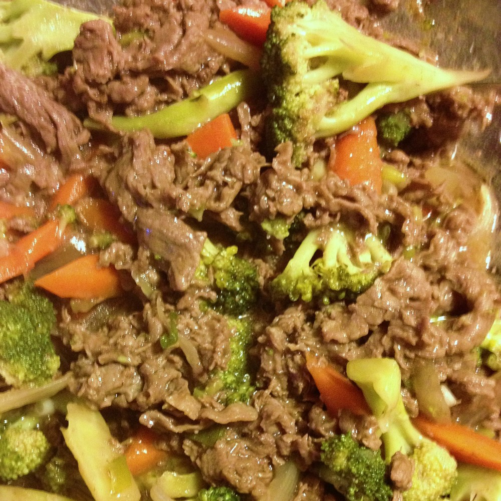Shortcut Beef & Broccoli from JenniferJuniper.net