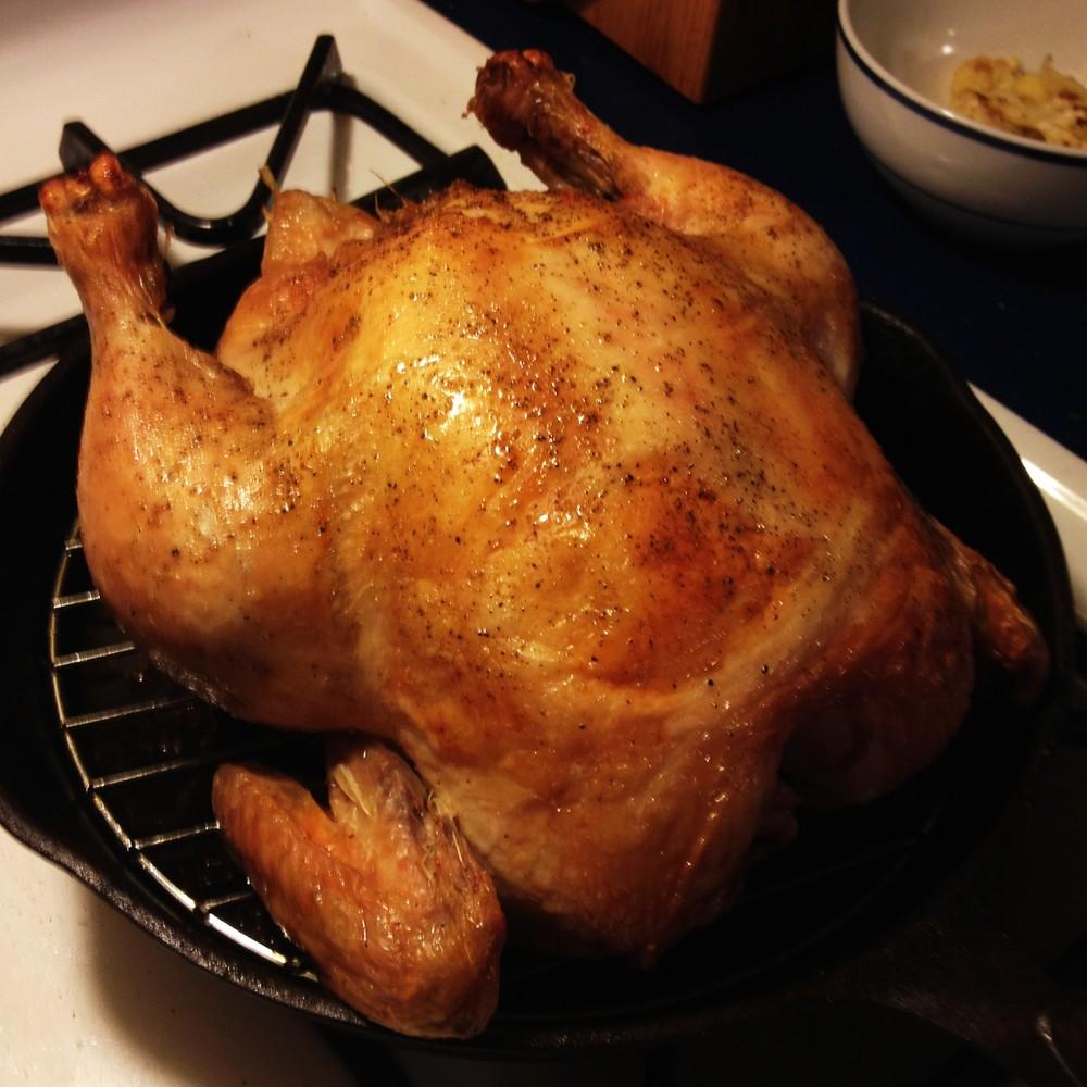 Roast Chicken from JenniferJuniper.net