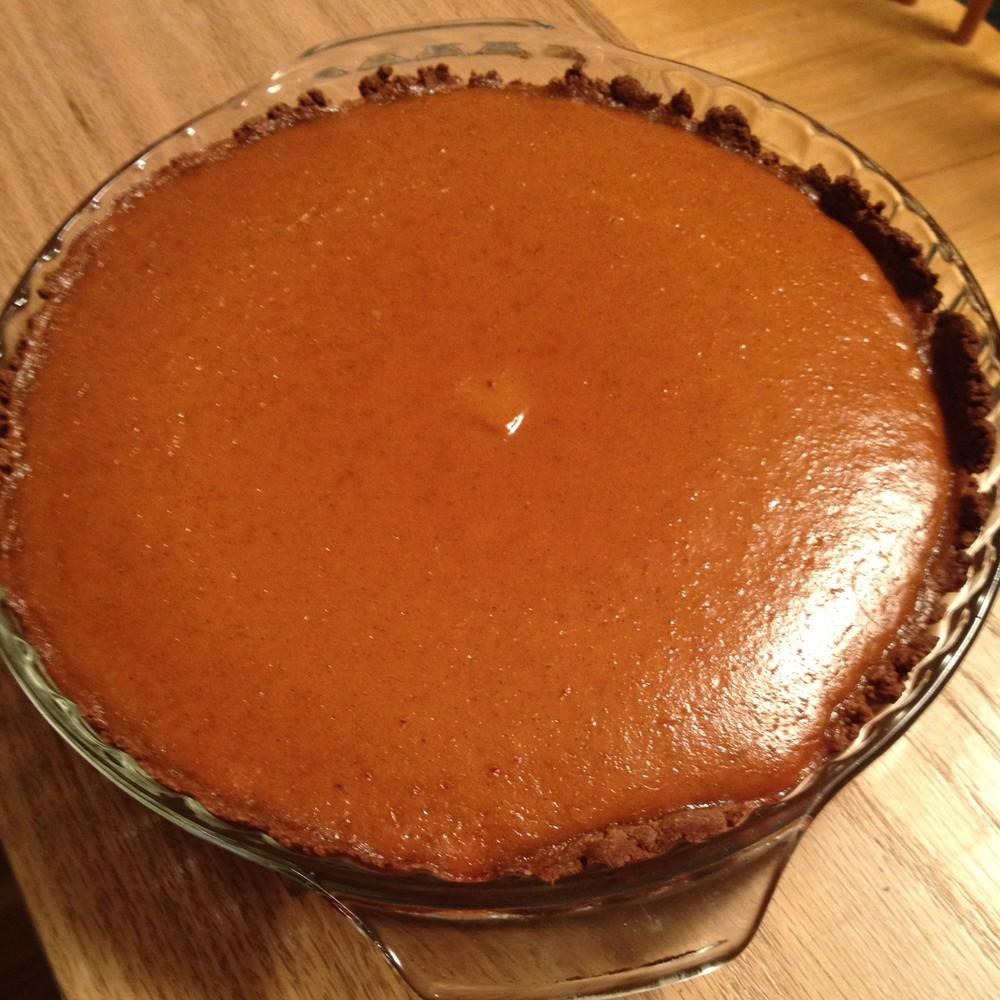 Gluten-free dairy-free pumpkin pie  JenniferJuniper.net