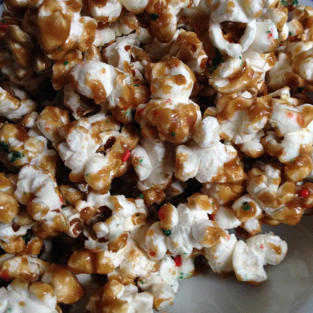 Caramel Corn from JenniferJuniper.net