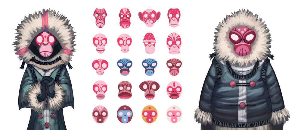 Winter Monkey Masks.jpg
