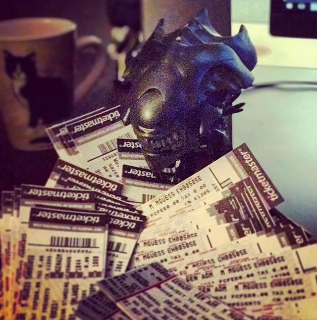 Get your free tickets! www.blainethemono.com/tickets #music #rock #alternative #concert #catsofinstagram #aliens #queen #funkopop