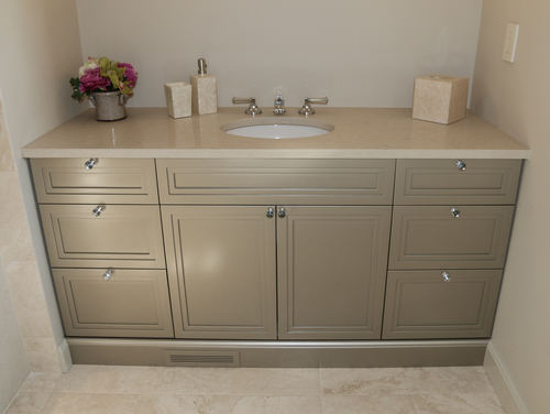 Custom Fit Bathroom Vanities zeller woodworks