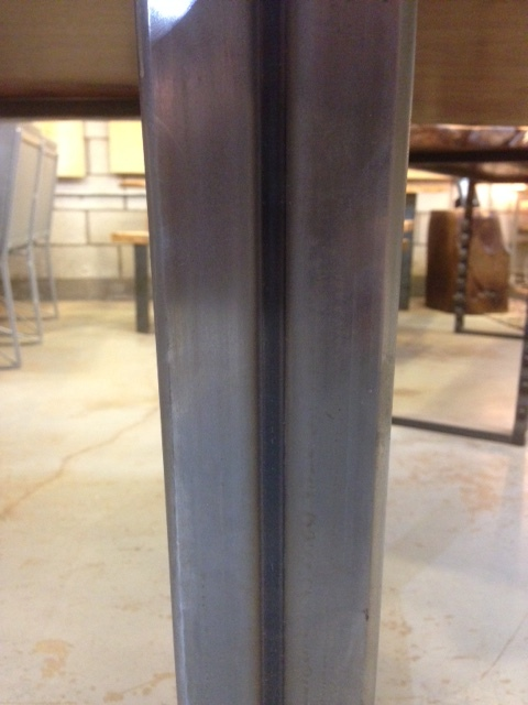 Raw tubular steel