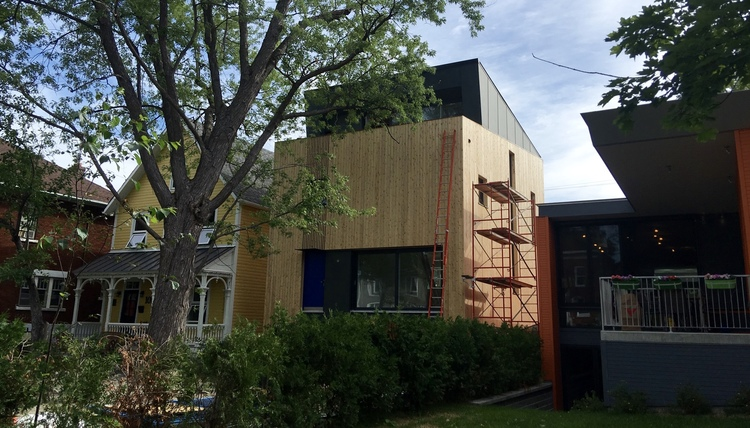 Wander Passive House, Ottawa ON, 2016
