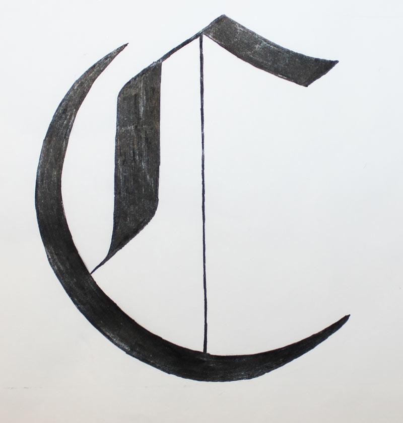 Blackletter C