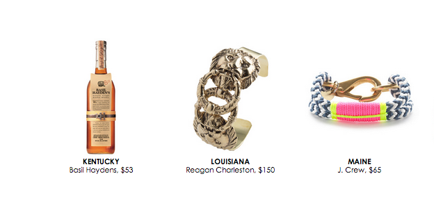 Reagan Charleston interlocking leone cuff featured in rachel zoe's 50 gifts from the 50 states december 2014