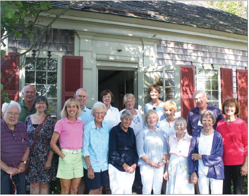 2015 Docents and Trustees. Image courtesy of Tim Wood, Cape Cod Chronicle.
