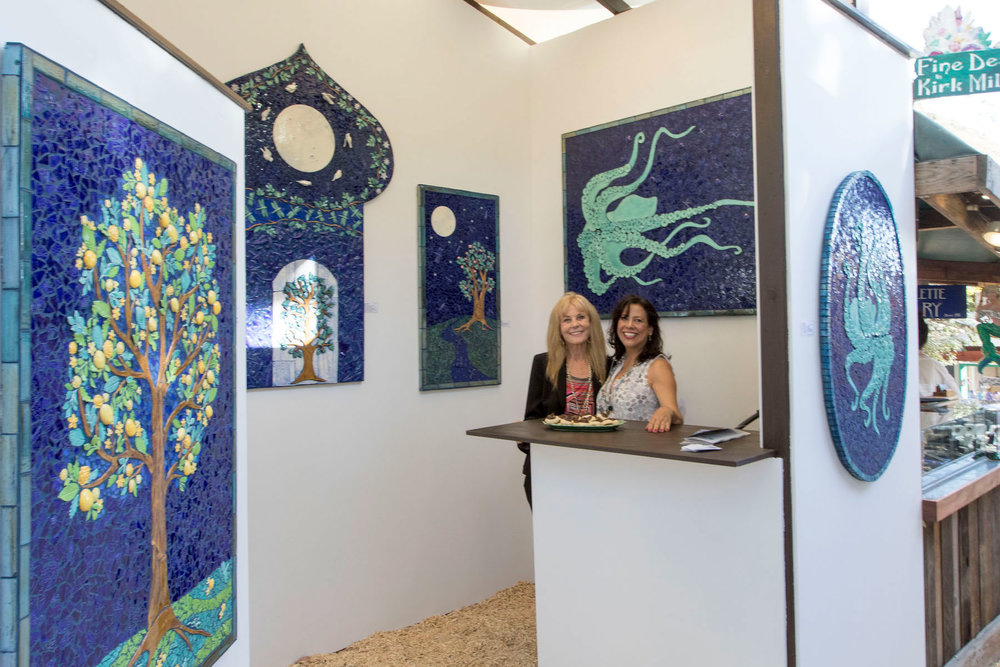 A sensational preview night - Stu News Laguna- Sawdust Art Festival 2018