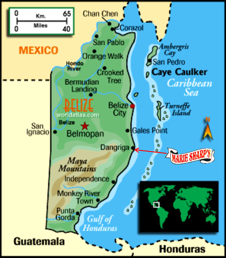 Map Marie Sharps