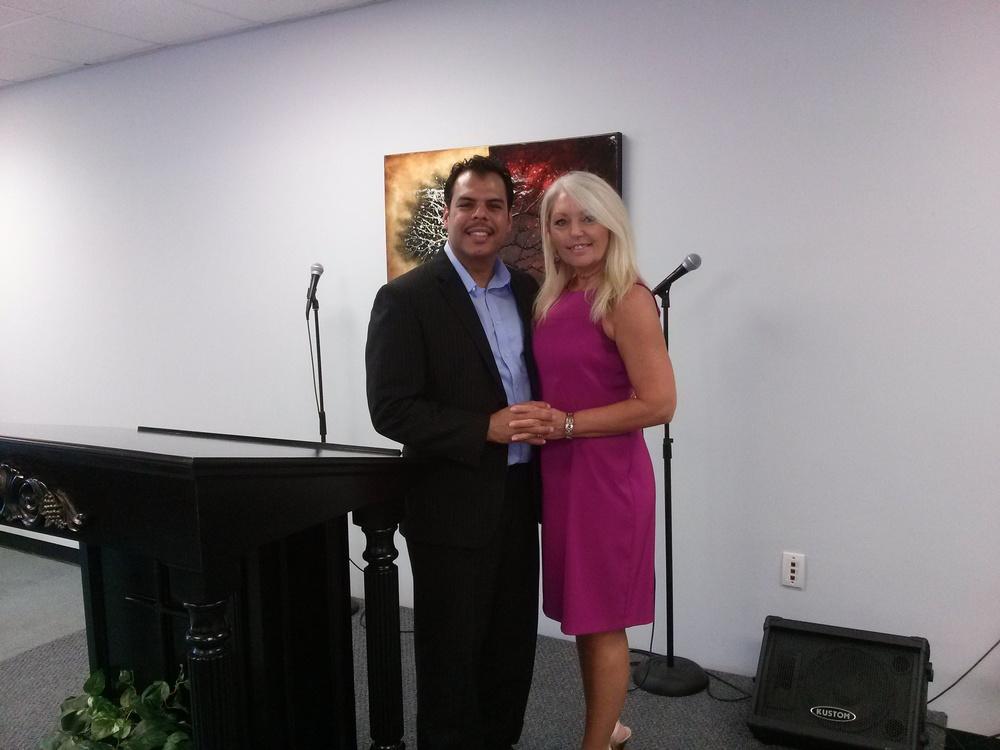 Pastor Eli and First Lady Leonna Badillo
