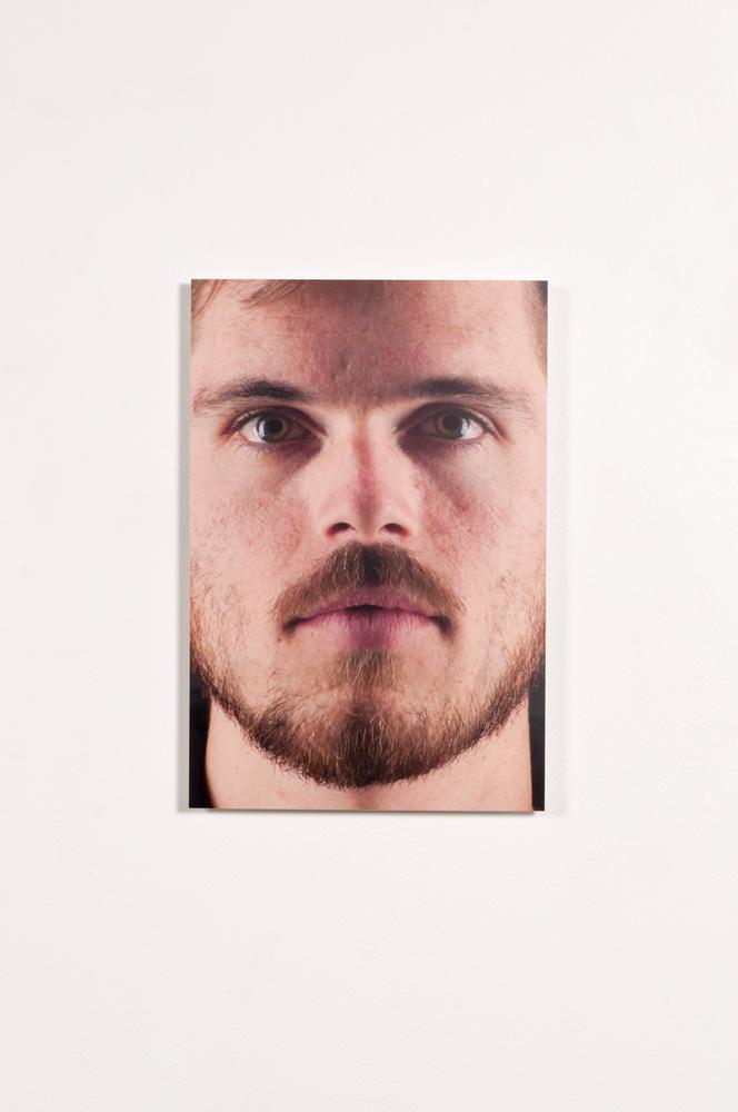 Self Portrait as David Del Francia
