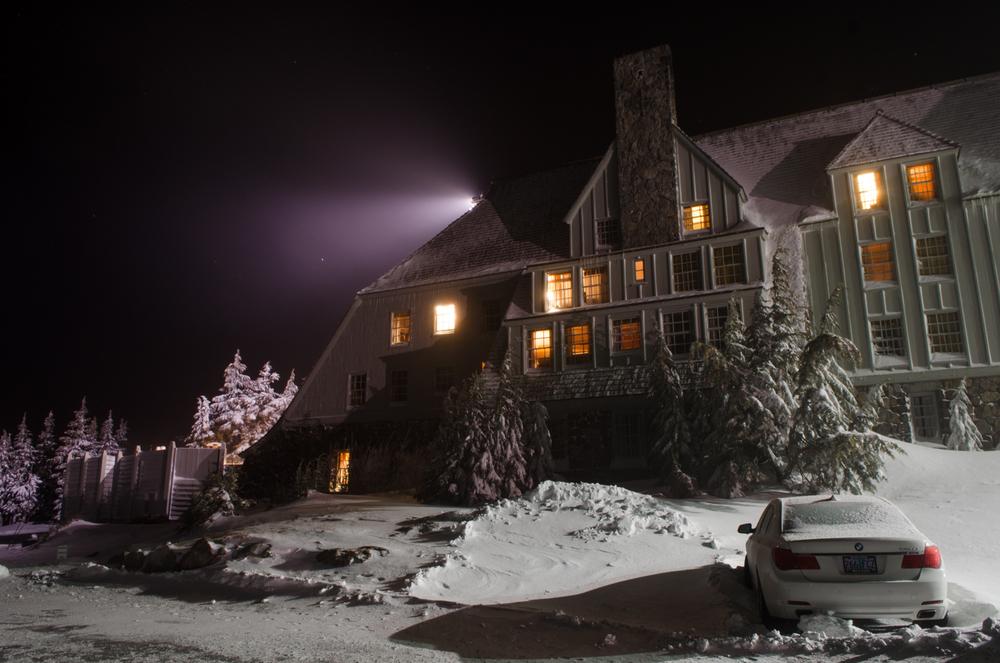 Timberline Lodge, Mt Hood, Oregon.