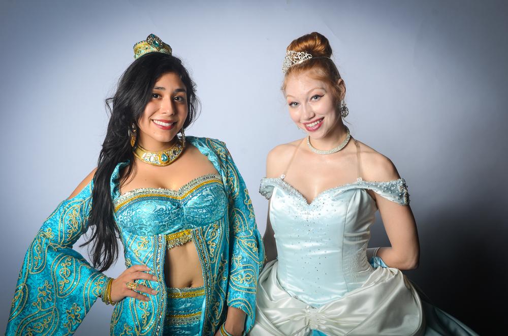 I'll make you look like a princess!