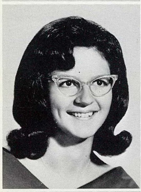My mom Vicky in her senior portrait.