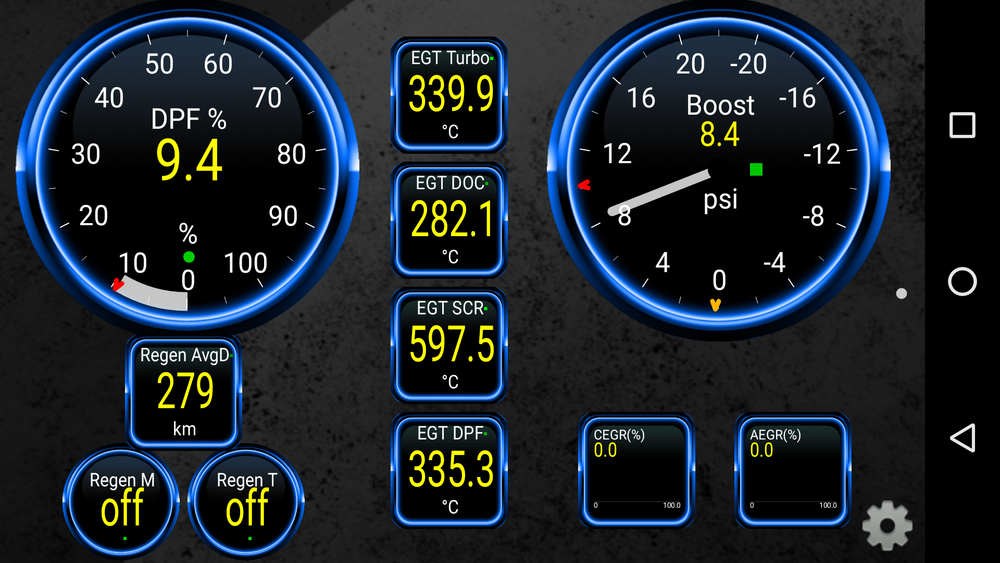 Torque App - Gauges — BD Turnkey Engines LLC