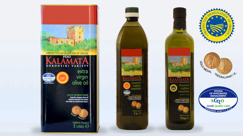 Extra virgin Greek olive oil