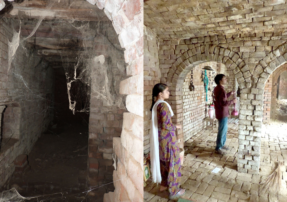 Buksh Museum (Phase One), before and after shot