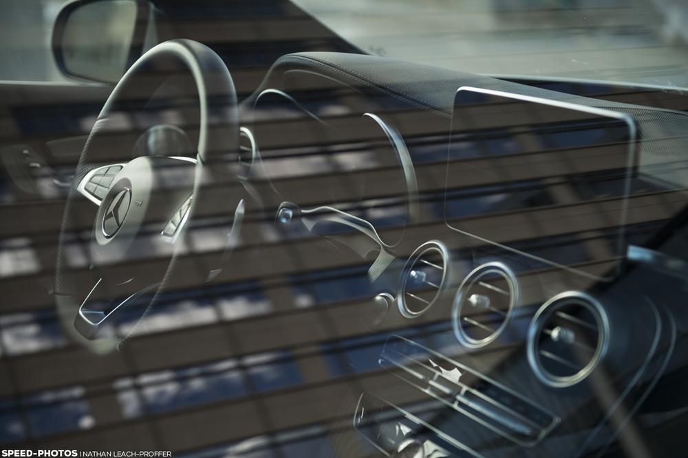 Mercedes-Benz C300 4MATIC reflections