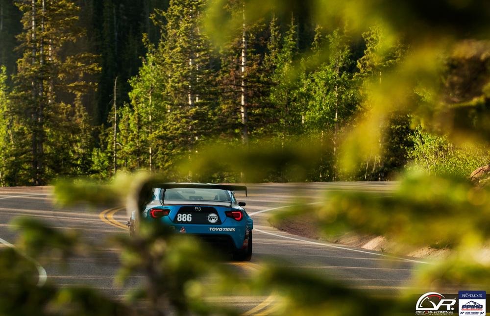scion greddy racing pikes peak