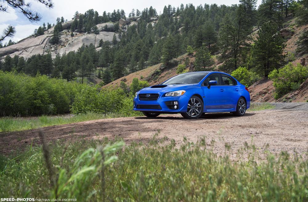 2016 Subaru WRX front