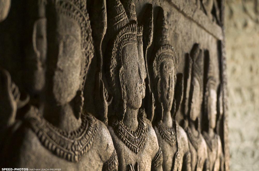 angkor wat carving detail