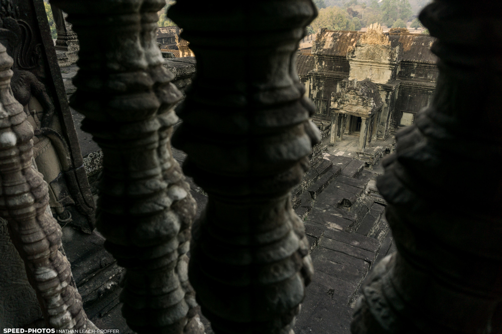 angkorwat from above