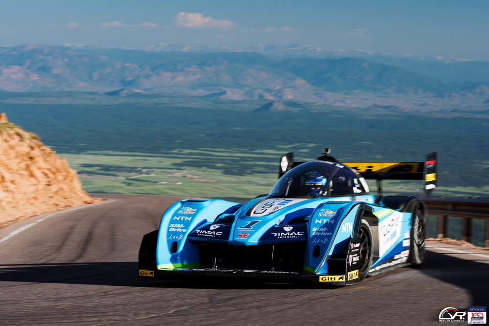 Monster Tajima at the 100 Anniversary Pikes Peak International Hill Climb