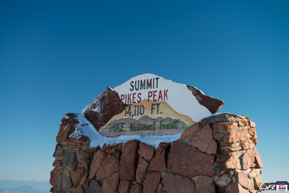 The Summit of Pikes Peak.