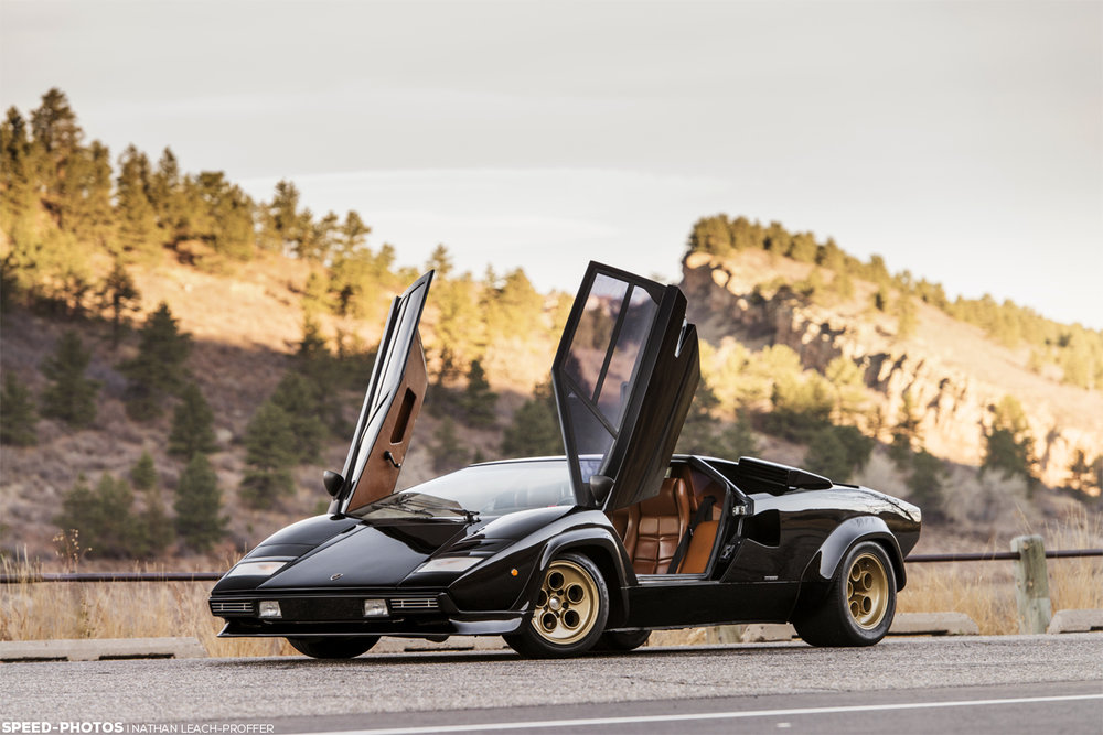 Lamborghini Countach LP400 S Series I by Bertone