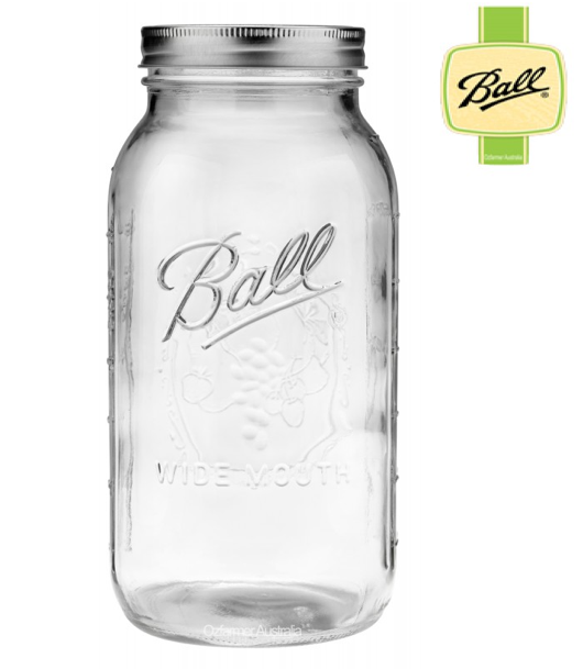 2 Litre Ball Mason Jar