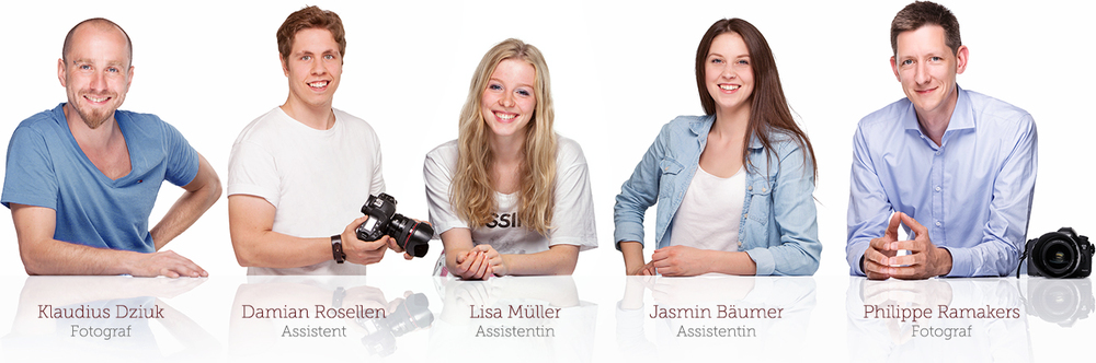Team des Fotostudio intuitive fotografie in Köln