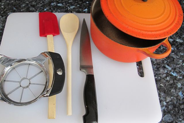 equipment to make applesauce