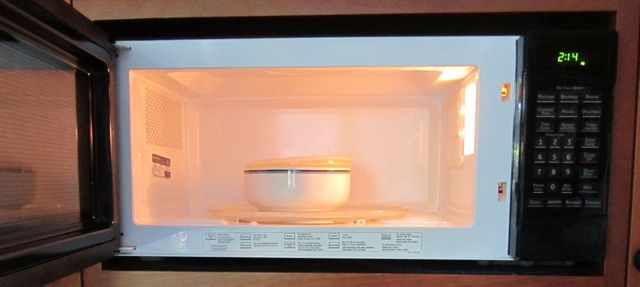 cooking vegetables, microwave cooking