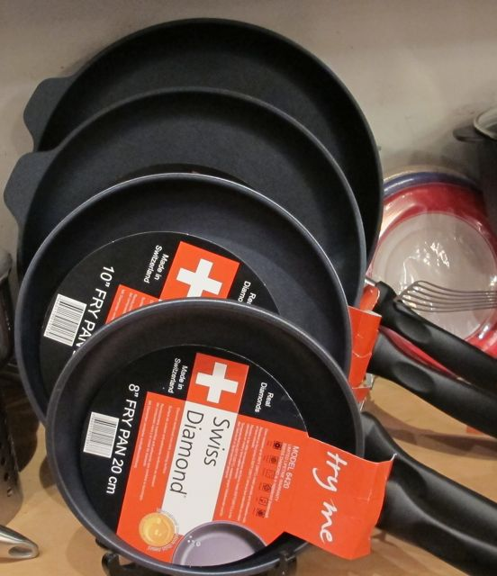 Swiss Diamond pans, Christmas gifts