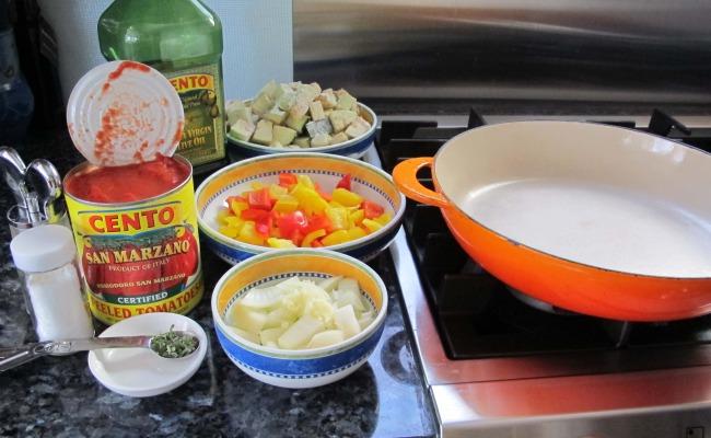 how to make easy ratatouille