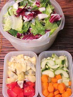 time-saving tips, how-to make salad