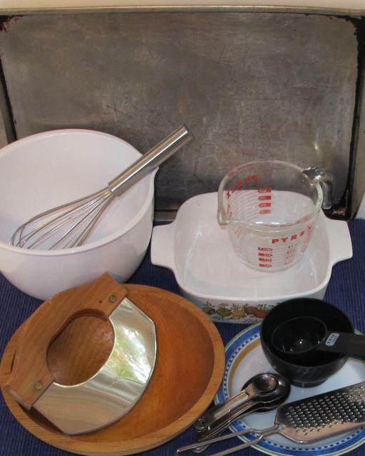 brea pudding equipment, utensils