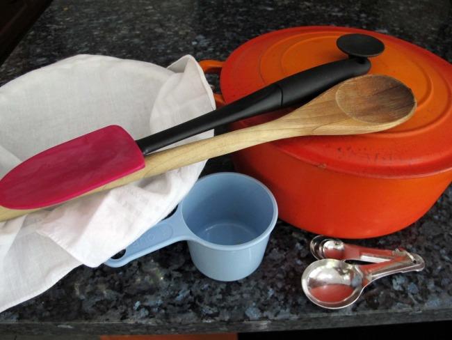 recipe ricotta equipment