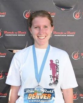 Eleanor Mulshine, marathon, Denver Rock 'N Roll, race, cooking, culinary arts