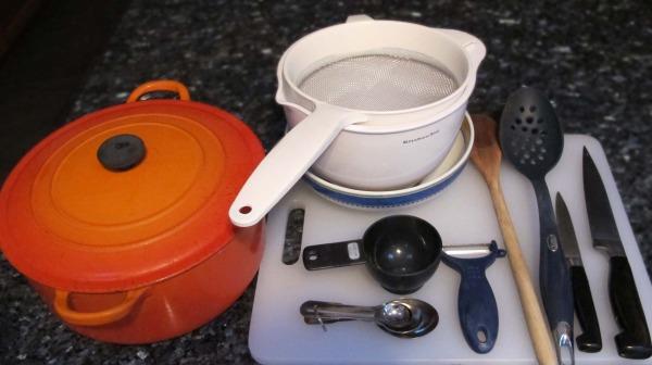 cock-a-leekie soup equipment