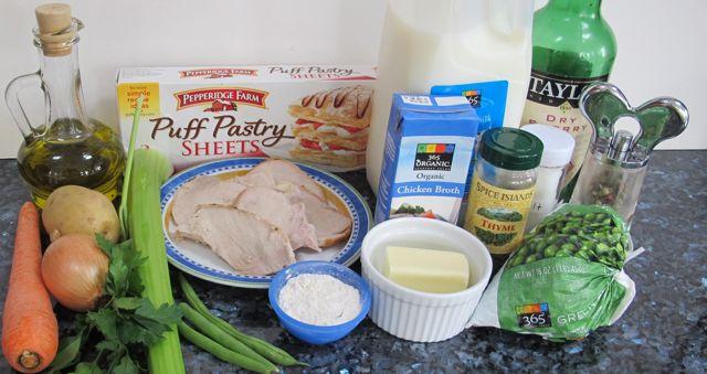 turkey pot pie ingredients