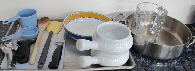 turkey pot pie equipment
