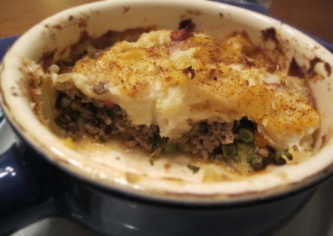 baked shepherd's pie