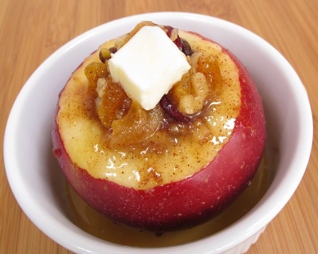 baked apple - stuffed with pat of butter.jpg
