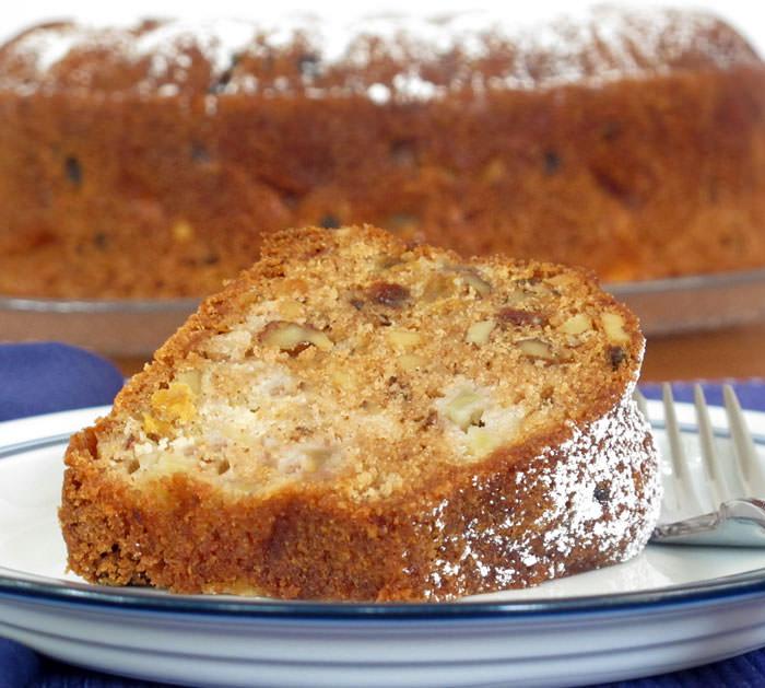 apple cake with honey for Rosh Hashanah