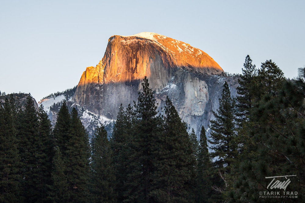 Sunset, Half Dome